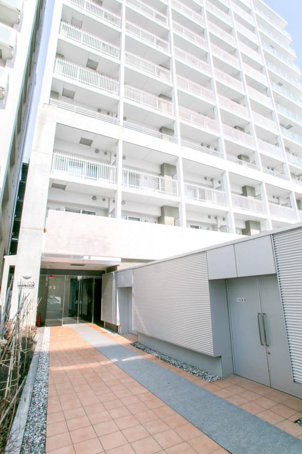 北海道のマンスリーマンション「イリオス中島公園」外観画像