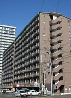 札幌市のマンスリーマンション「アン・セリジェ」外観画像