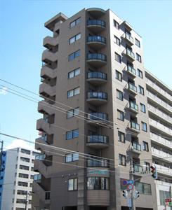 北海道のマンスリーマンション「オンズドール」外観画像