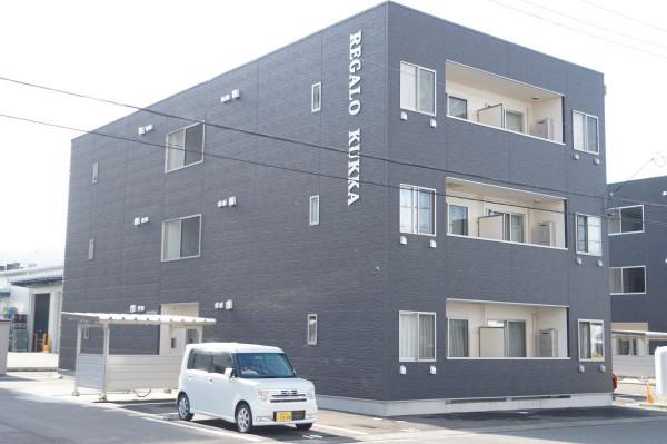 福井県福井市のウィークリー・マンスリーマンション「RBマンスリー福井 KUKKA」外観画像