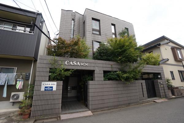 福井のウィークリー・マンスリーマンション「CASA101」外観画像