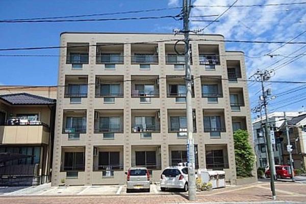 鳥取県米子市のウィークリーマンション・マンスリーマンション「Kマンスリー米子駅東」外観画像