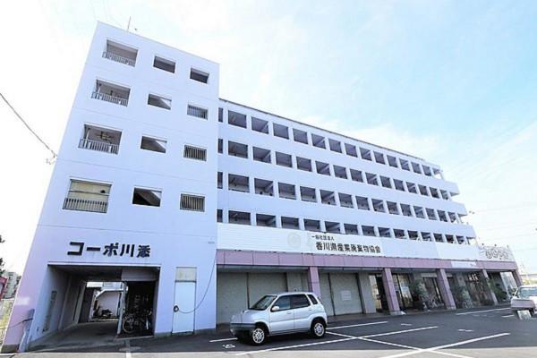 水田駅(高松琴平電鉄長尾線)の家具家電付きマンスリーマンション「Kマンスリー香川高松」外観画像