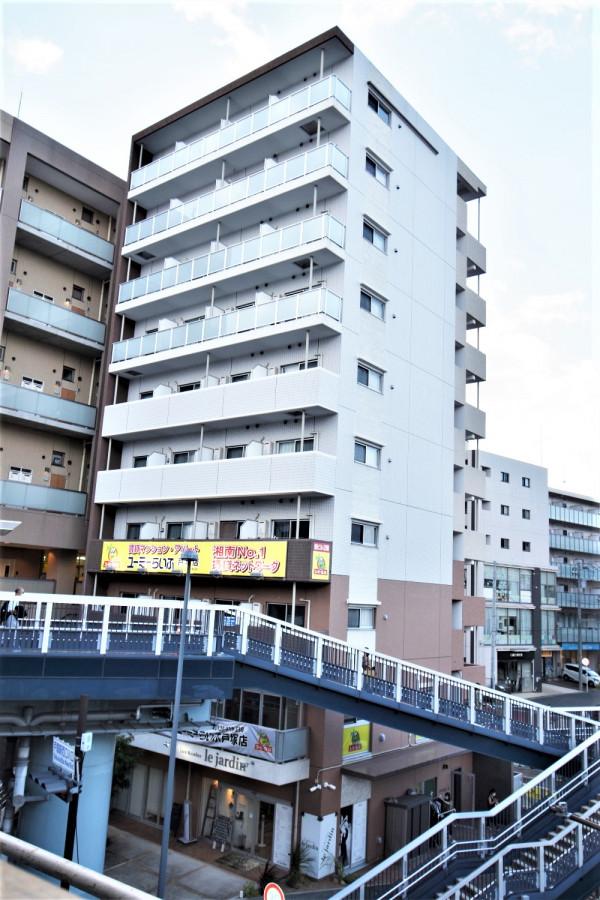 湘南・藤沢のウィークリーマンション ・マンスリーマンション「Kマンスリー戸塚駅前」外観画像