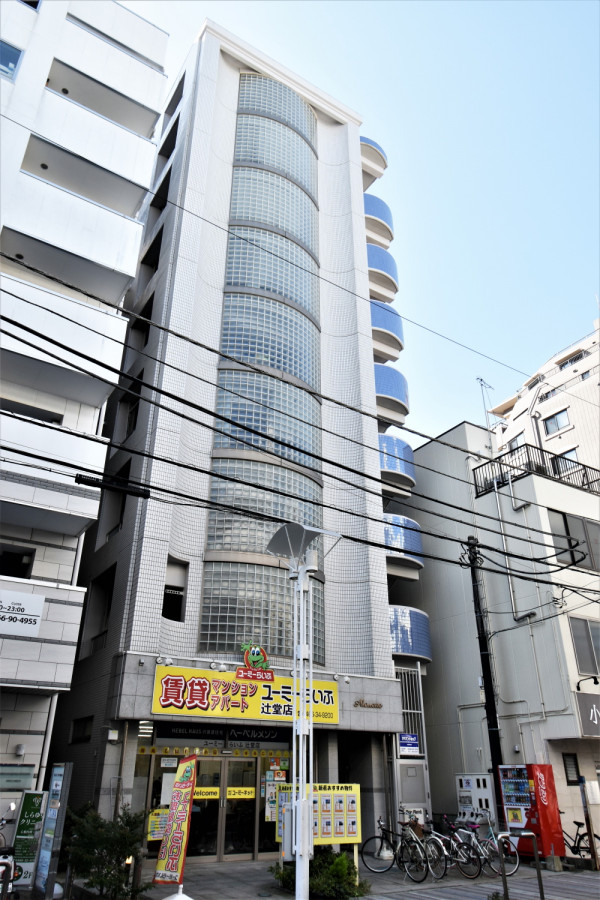 神奈川県藤沢市のウィークリーマンション ・マンスリーマンション「Kマンスリー辻堂駅前」外観画像