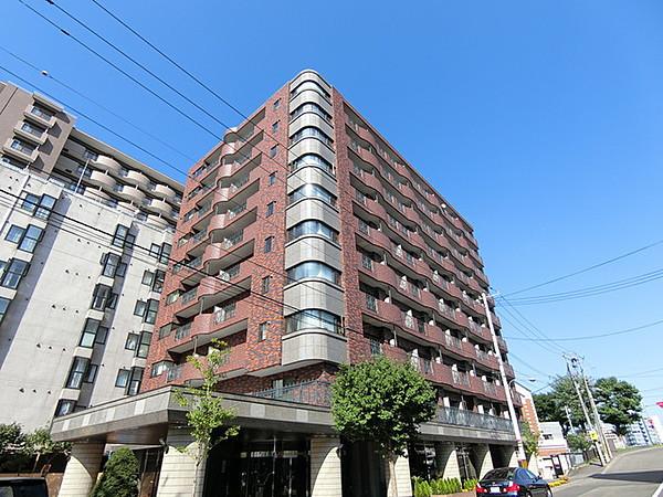 北海道札幌市中央区のマンスリーマンション「クラシックハイム」外観画像