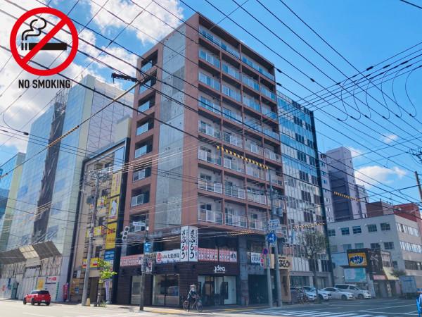 札幌駅(札沼線)の家具付きウィークリー・マンスリーマンション「エクスフラッツさっぽろ駅西口」外観画像