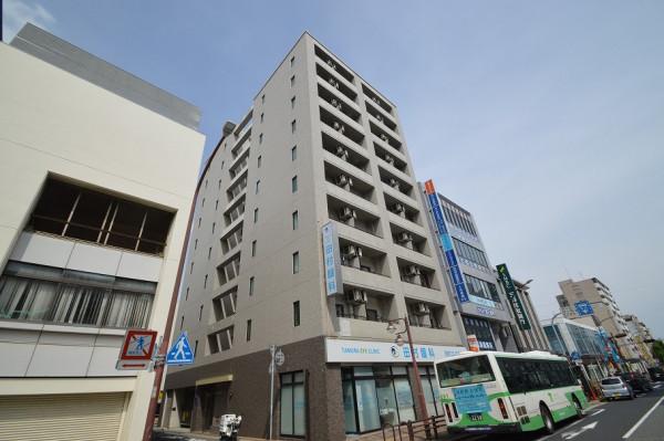 兵庫県のウィークリーマンション・マンスリーマンション「Kマンスリー神戸板宿駅前」外観画像