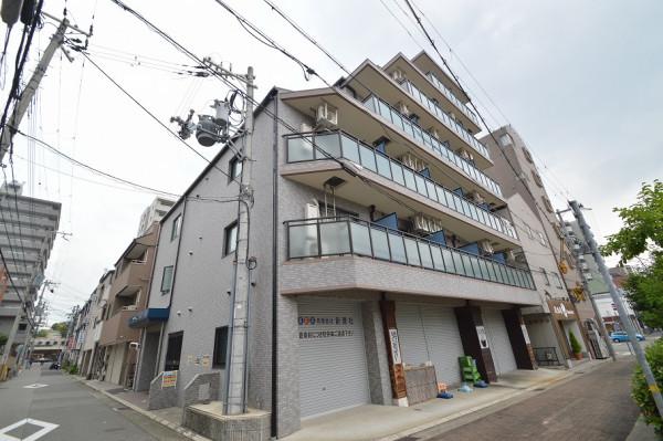 兵庫県のウィークリーマンション・マンスリーマンション「Kマンスリー神戸湊川公園駅前」外観画像