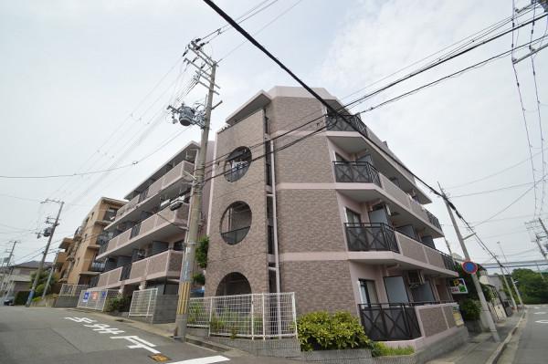 兵庫県神戸市須磨区のウィークリーマンション・マンスリーマンション「Kマンスリー神戸須磨」外観画像