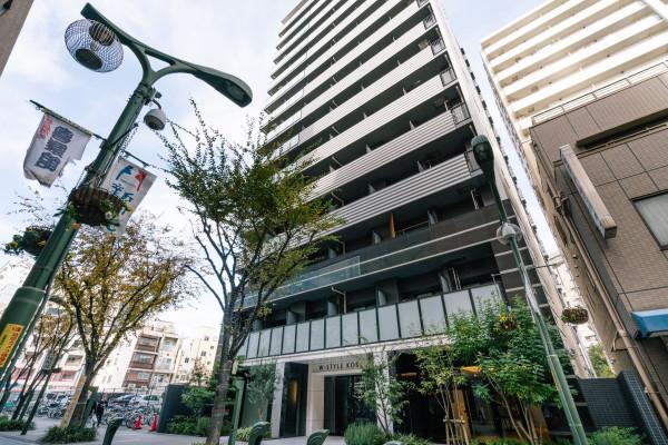 兵庫県のウィークリーマンション・マンスリーマンション「Kマンスリー神戸新開地駅前」外観画像