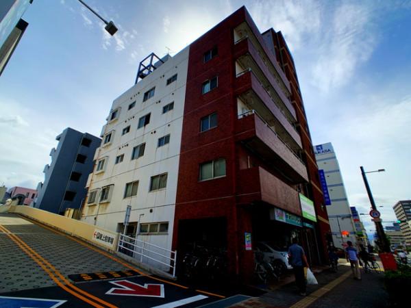 愛媛県のマンスリーマンション「愛媛マンスリー松山市勝山町」外観画像