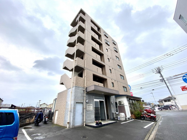 愛媛県のマンスリーマンション「愛媛マンスリー松山市鷹子駅前」外観画像