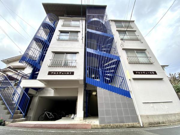 愛媛県のマンスリーマンション「愛媛マンスリー松山市緑町」外観画像