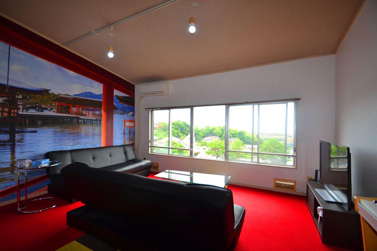 広島県廿日市市の家具家電付きマンスリーマンション「Kマンスリー宮島 3LDK(No.123288)」メイン画像