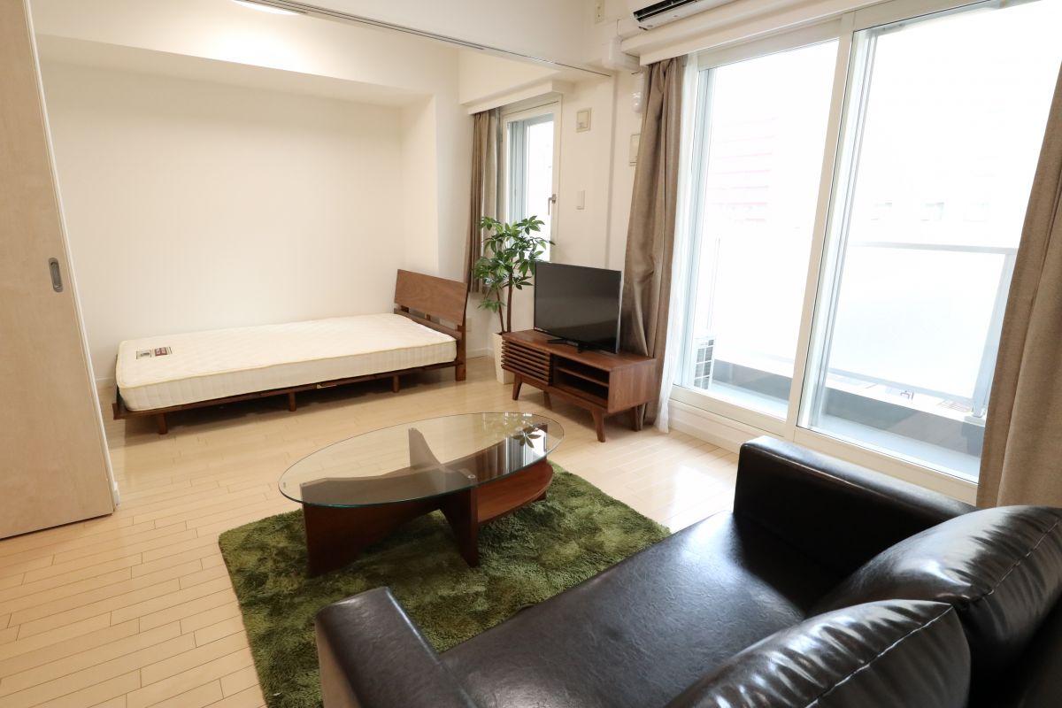 札幌の家具家電付きマンスリーマンション「バロンドール 1LDK」メイン画像