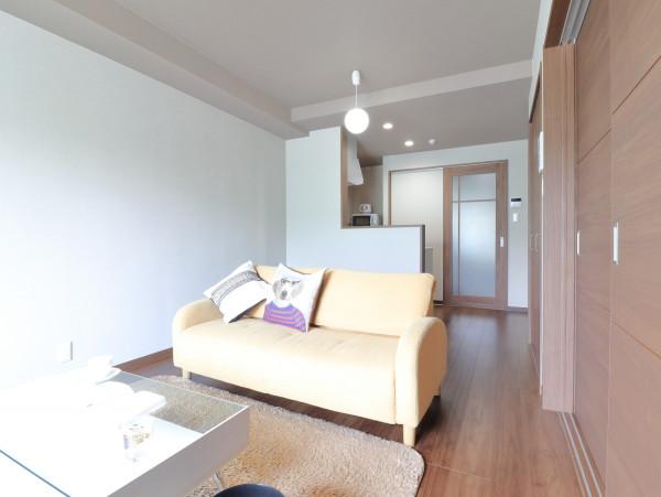 広島県福山市の家具付き賃貸「ザ・コモド草戸」メイン画像