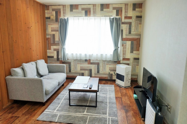 中島公園駅(札幌市南北線)の家具家電付きマンスリーマンション「ノールテラスD 4d・1DK」メイン画像