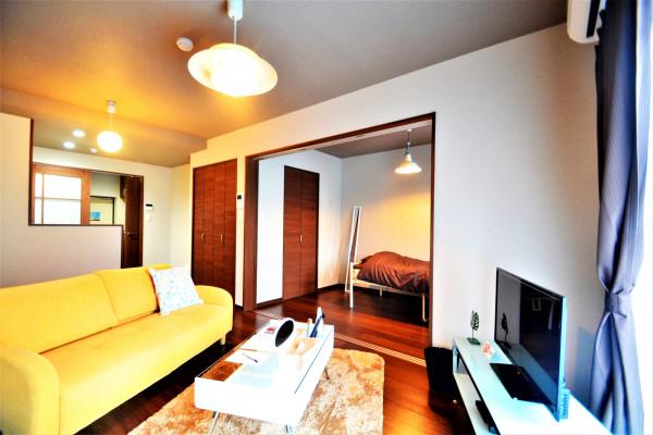 広島県の家具付き賃貸「ザ・カルモ草戸」メイン画像