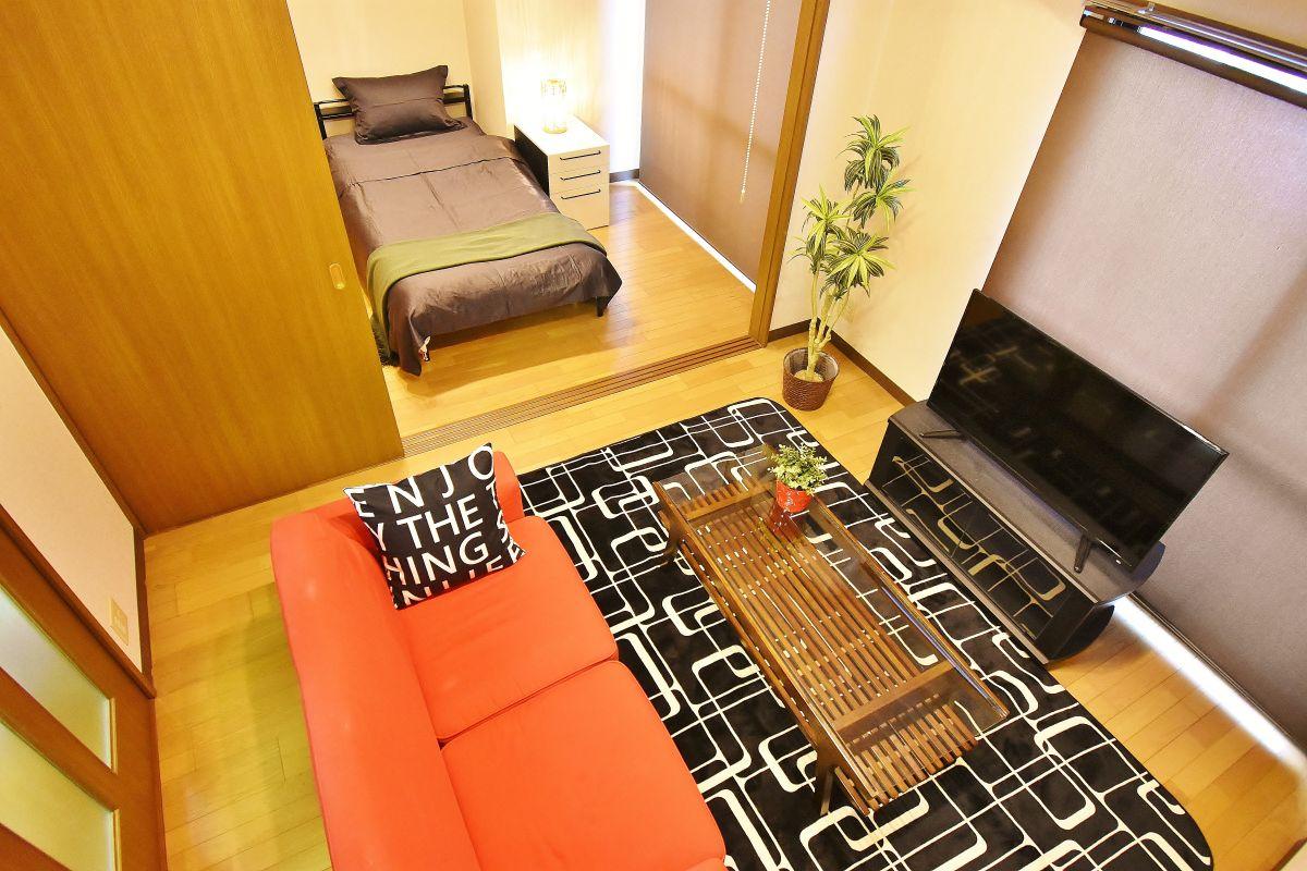 清輝橋駅(岡山電軌清輝橋線)の家具付き賃貸「エルヴェ大元」メイン画像