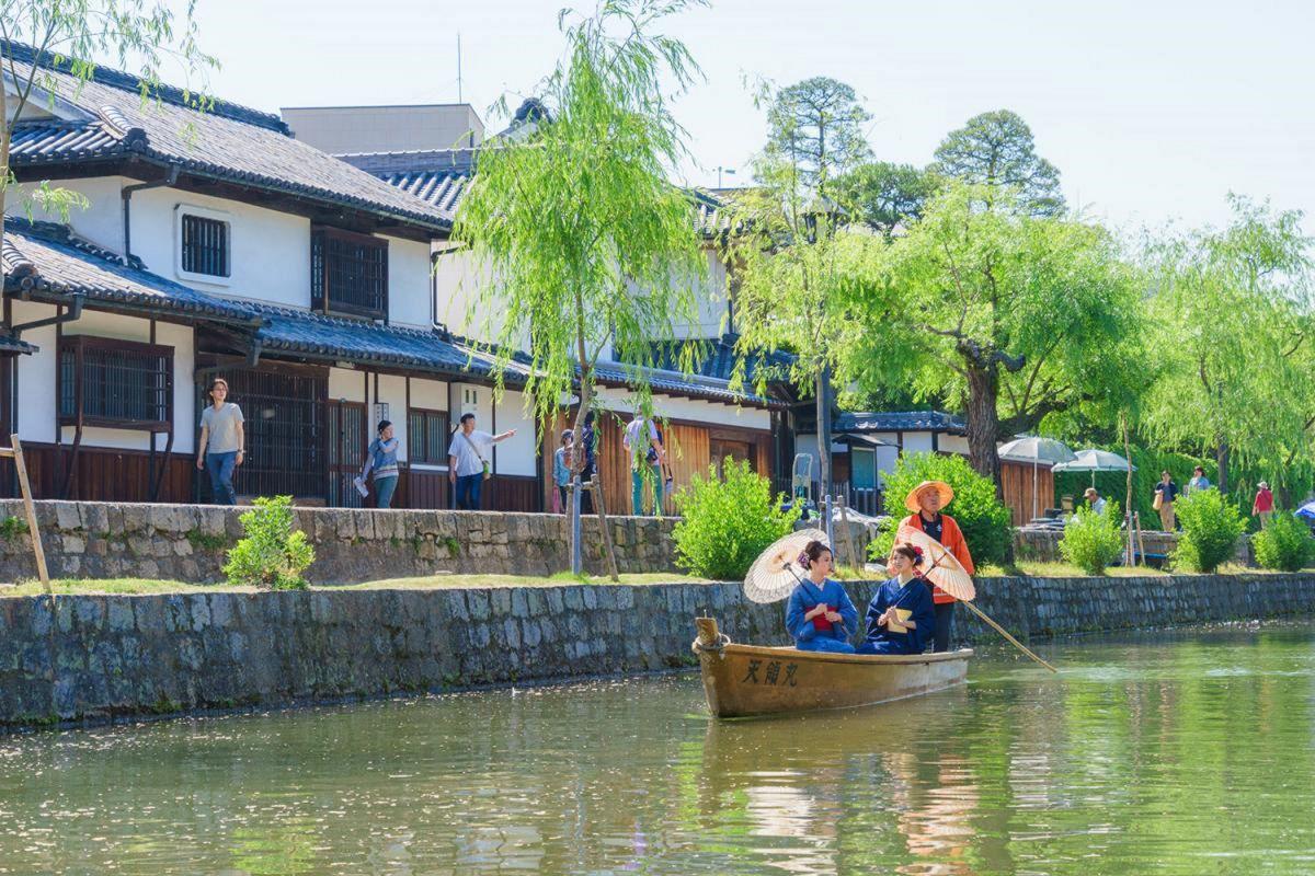 倉敷美観地区まで車で20分、7.3km。