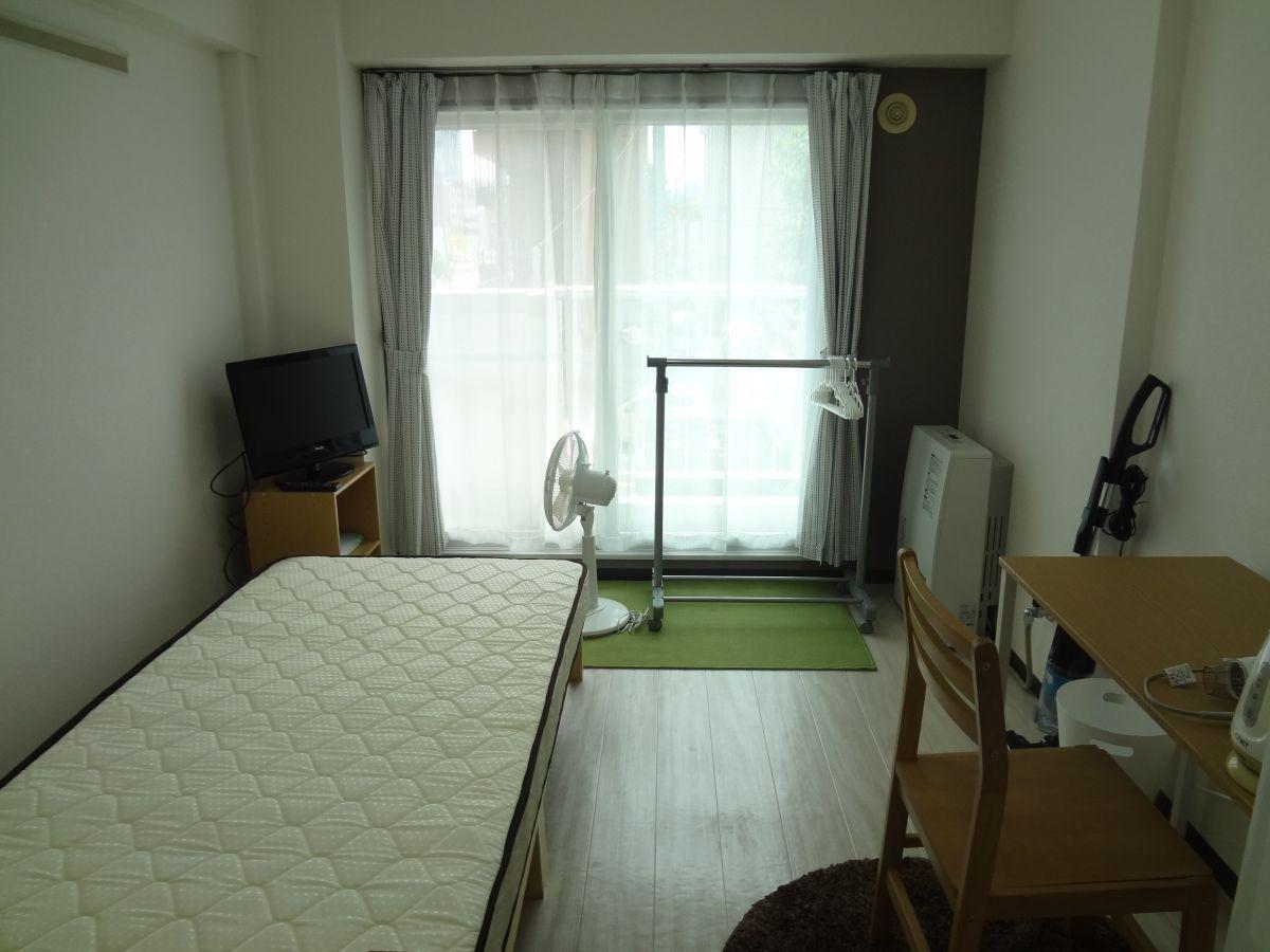 北海道札幌市北区のウィークリーマンション・マンスリーマンション「ノースステイ北16条 208・1K」メイン画像
