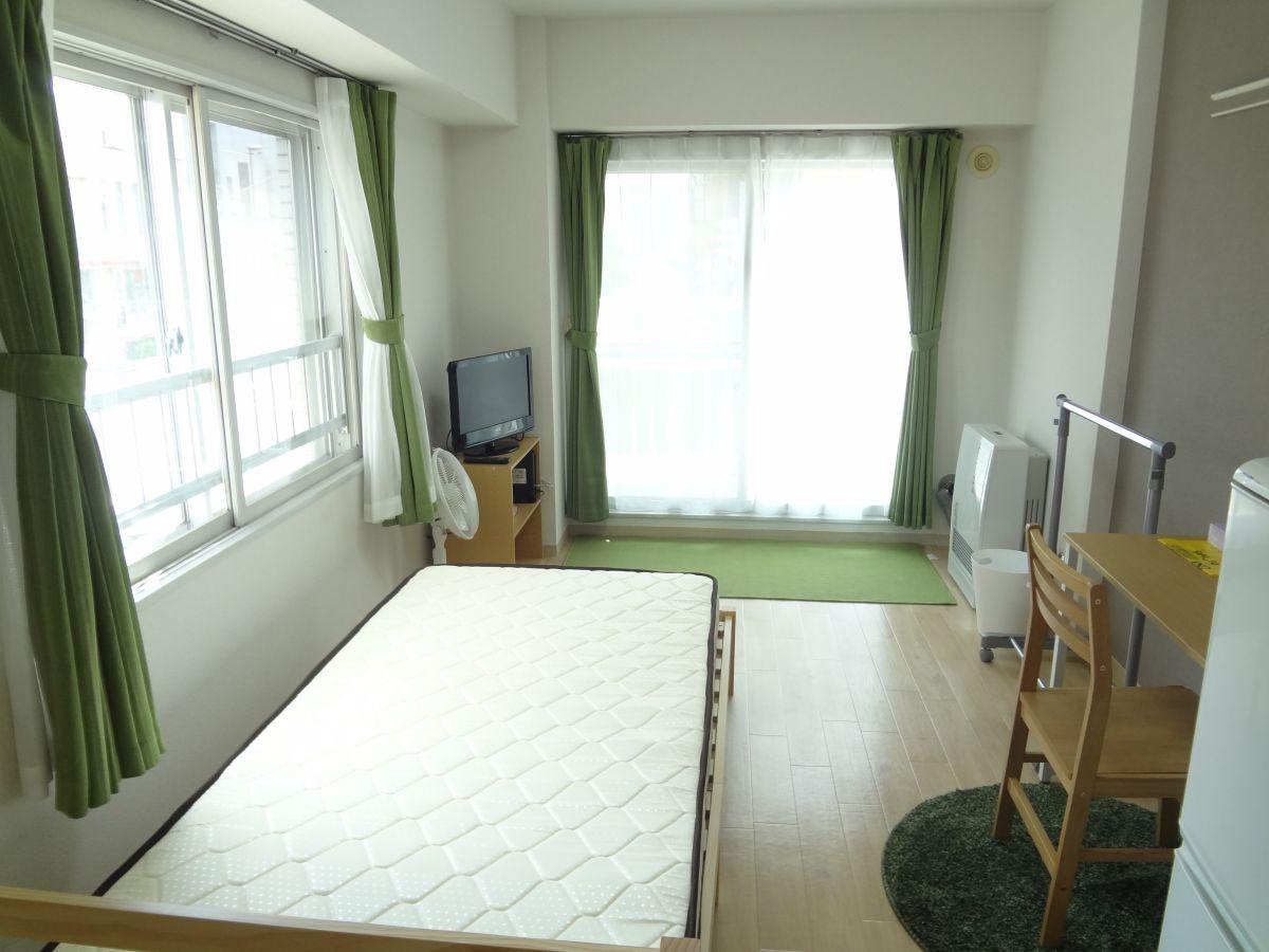 北海道札幌市北区のウィークリーマンション・マンスリーマンション「ノースステイ北16条 211・1K」メイン画像