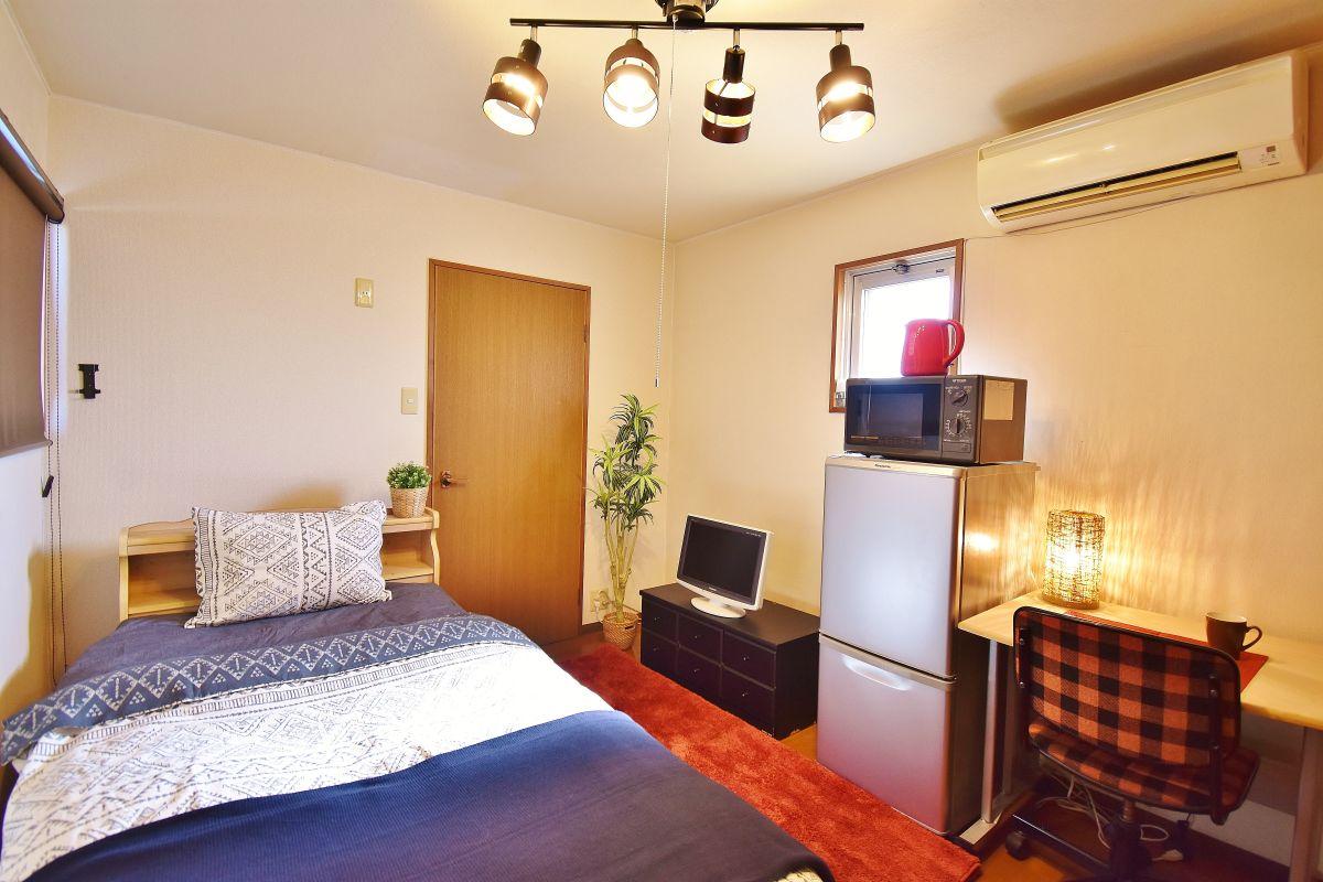 岡山県の家具付き賃貸「ファミーユ阿知」メイン画像