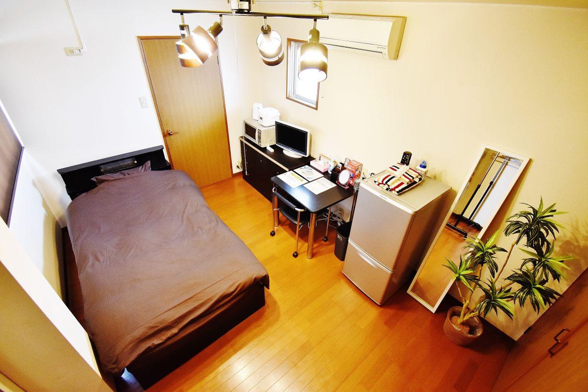 岡山・倉敷の家具付き賃貸「ファミーユ阿知」メイン画像
