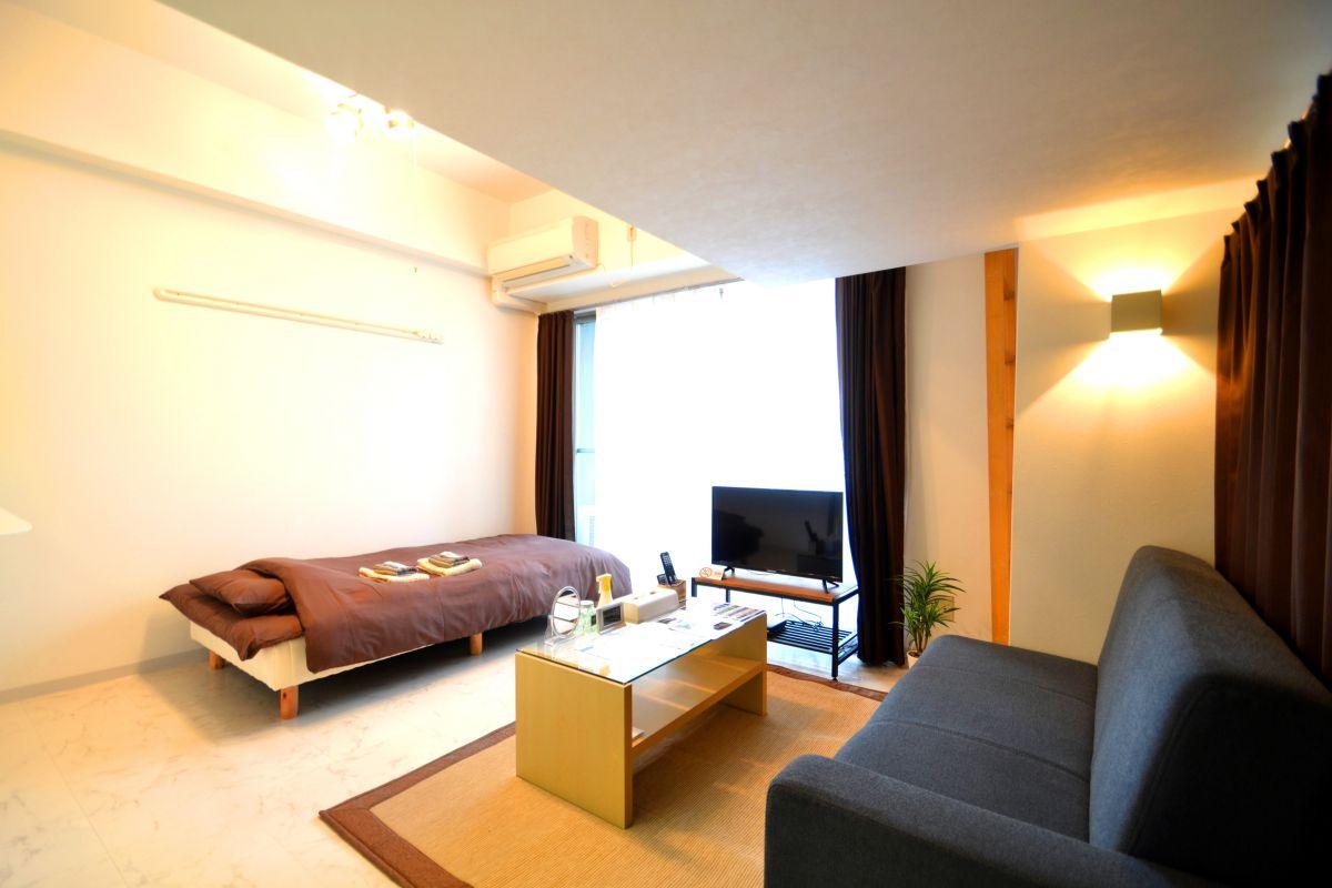 広島のウィークリーマンション・マンスリーマンション「Kマンスリー竹屋 1K-502」メイン画像