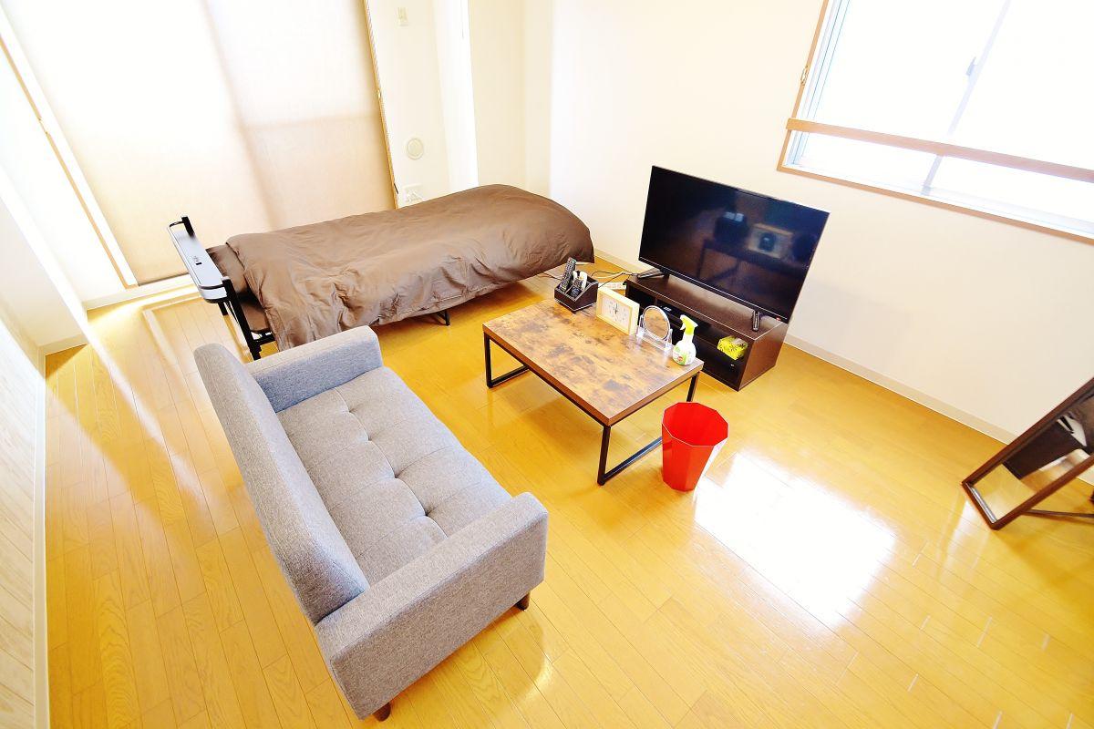 岡山県の家具付き賃貸「Castle Side」メイン画像