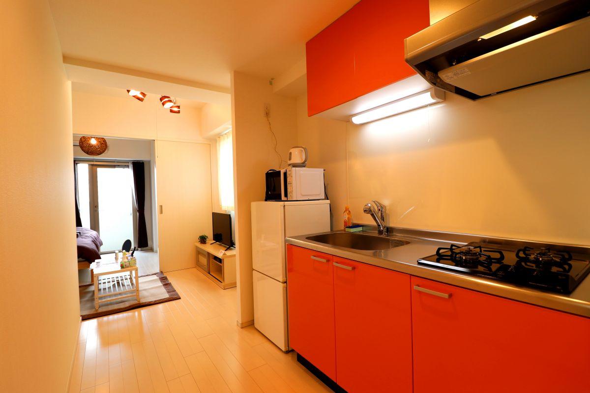 広島のウィークリーマンション・マンスリーマンション「Kマンスリー呉本通 1DK-901」メイン画像
