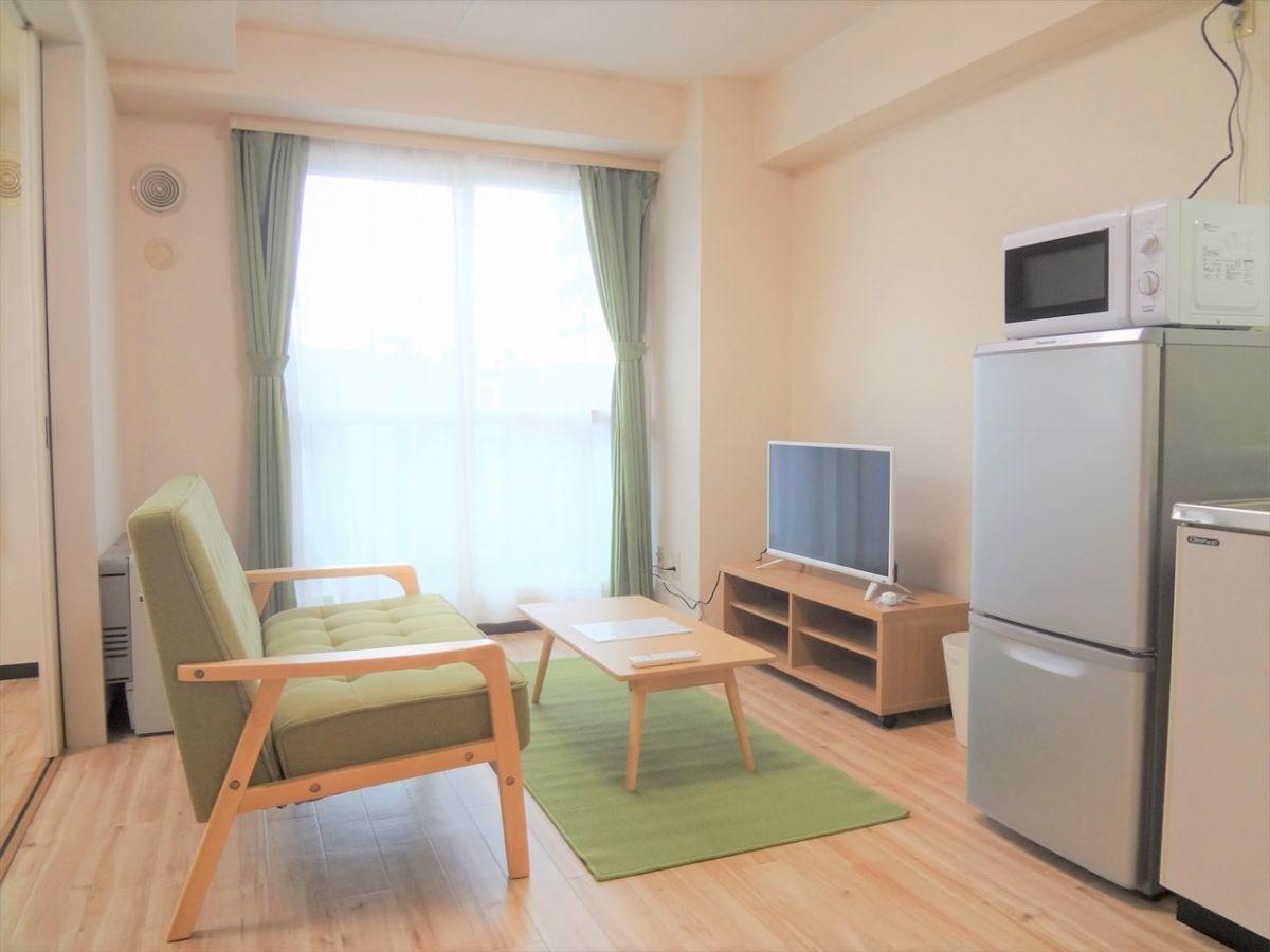 札幌のマンスリーマンション・ウィークリーマンション「ノースステイ医大前 706・1DK」メイン画像