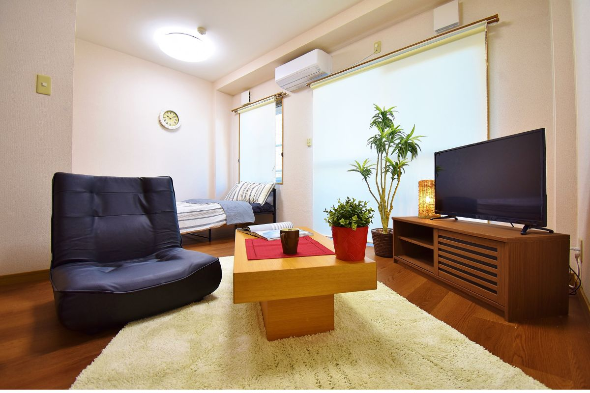 岡山県の家具付き賃貸「ジュメル倉敷」メイン画像