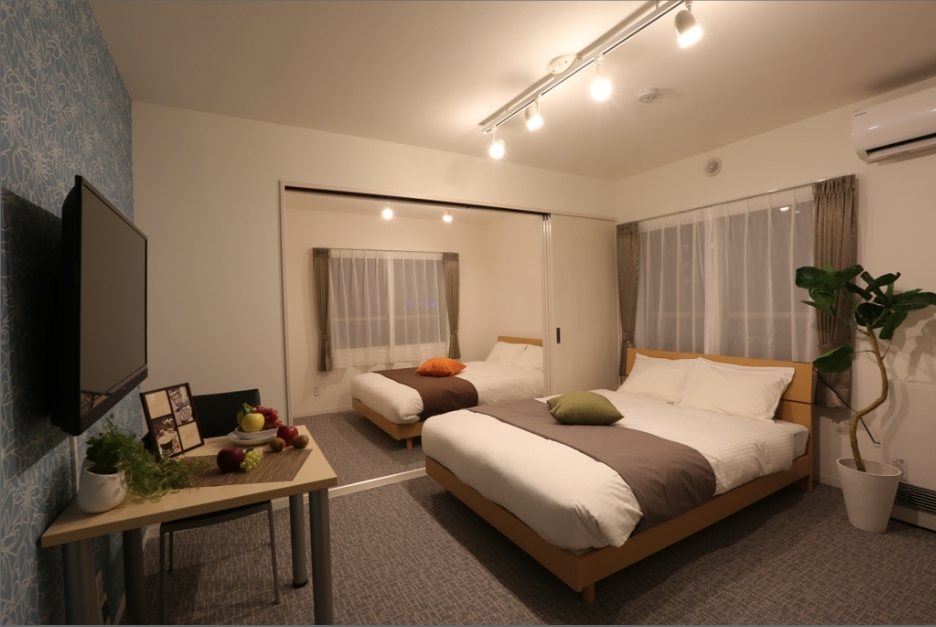 札幌市の家具家電付きマンスリーマンション「割引キャンペーン中!新築!Rマンスリー札幌1 」メイン画像