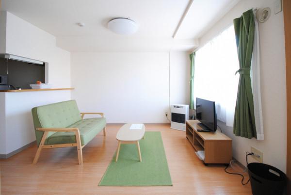 札幌市の家具家電付きマンスリーマンション「ノースステイ北20条 307・1LDK(No.125325)」メイン画像