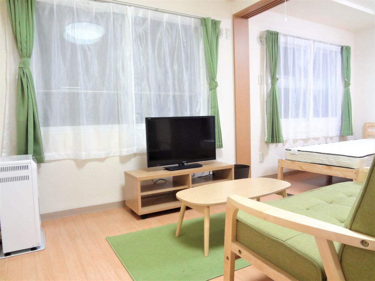 札幌のマンスリーマンション・ウィークリーマンション「ノースステイ北20条 407・1LDK」メイン画像