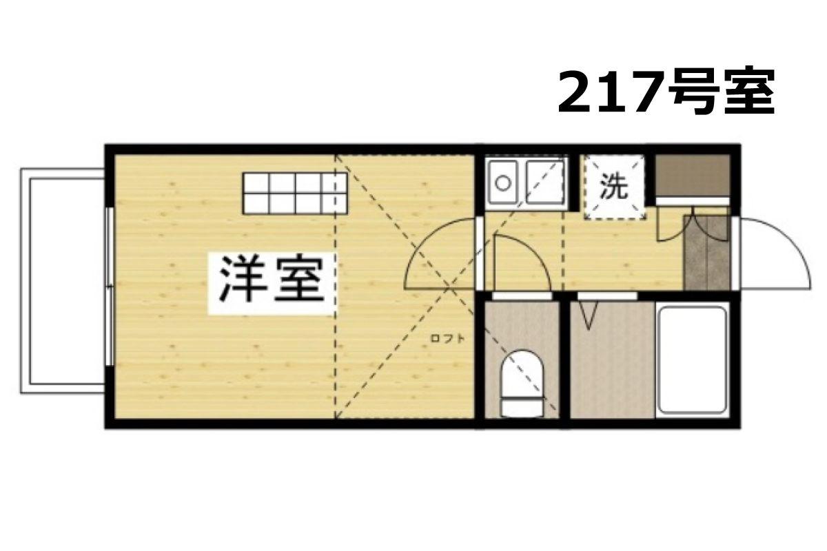 「アップルハウス水島Ⅲ」間取図画像