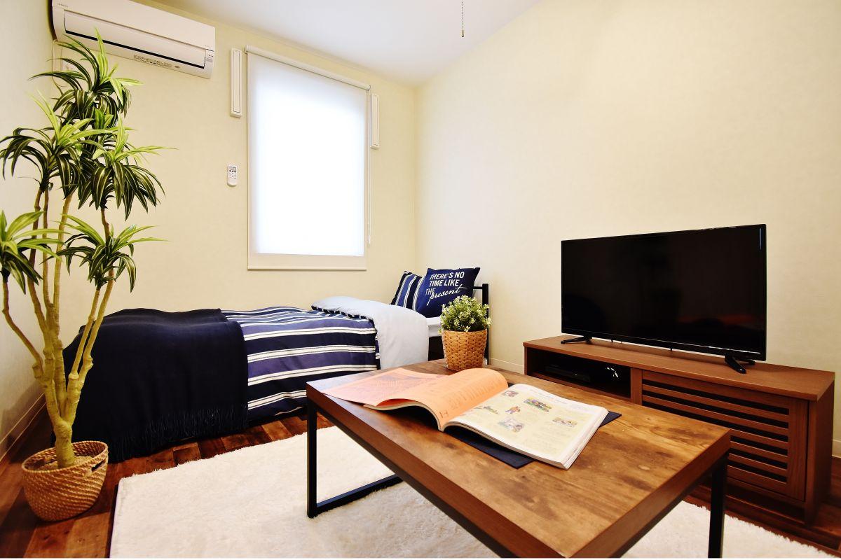岡山県の家具付き賃貸「KsB岡山医大」メイン画像