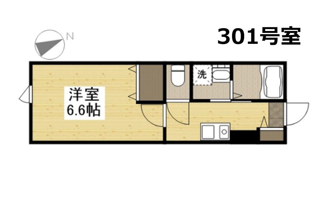 「KsB岡山医大」間取図画像