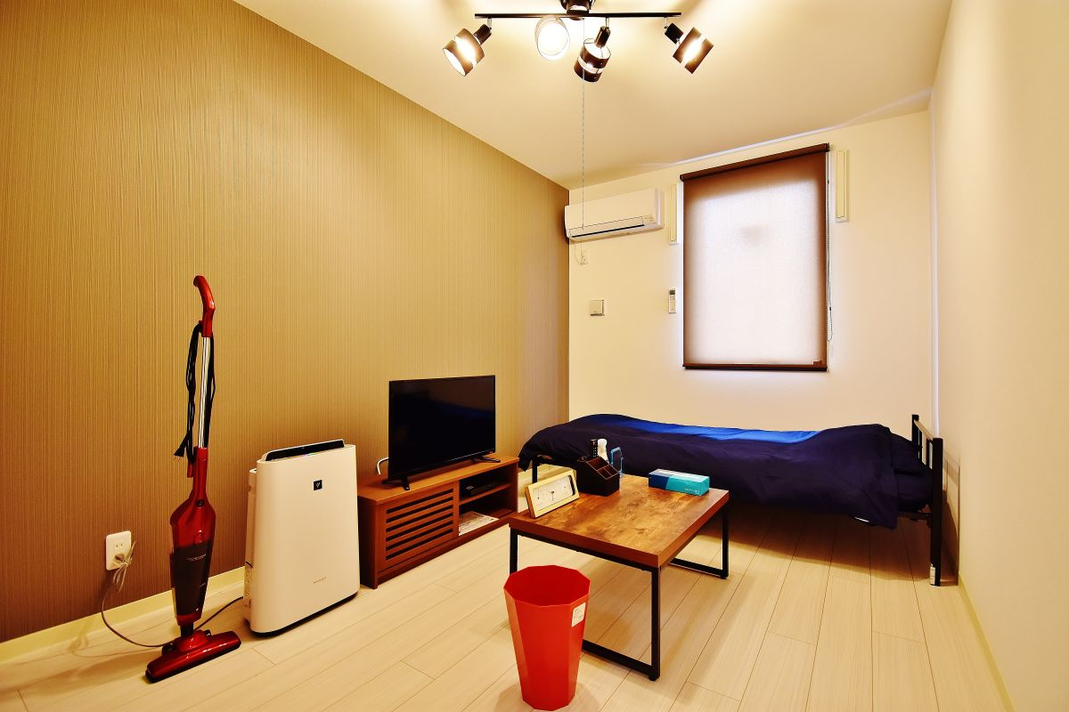 清輝橋駅(岡山電軌清輝橋線)の家具付き賃貸「KsB岡山医大」メイン画像