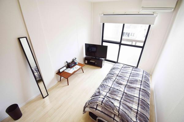 岡山県の家具付き賃貸「ビレッジK」メイン画像