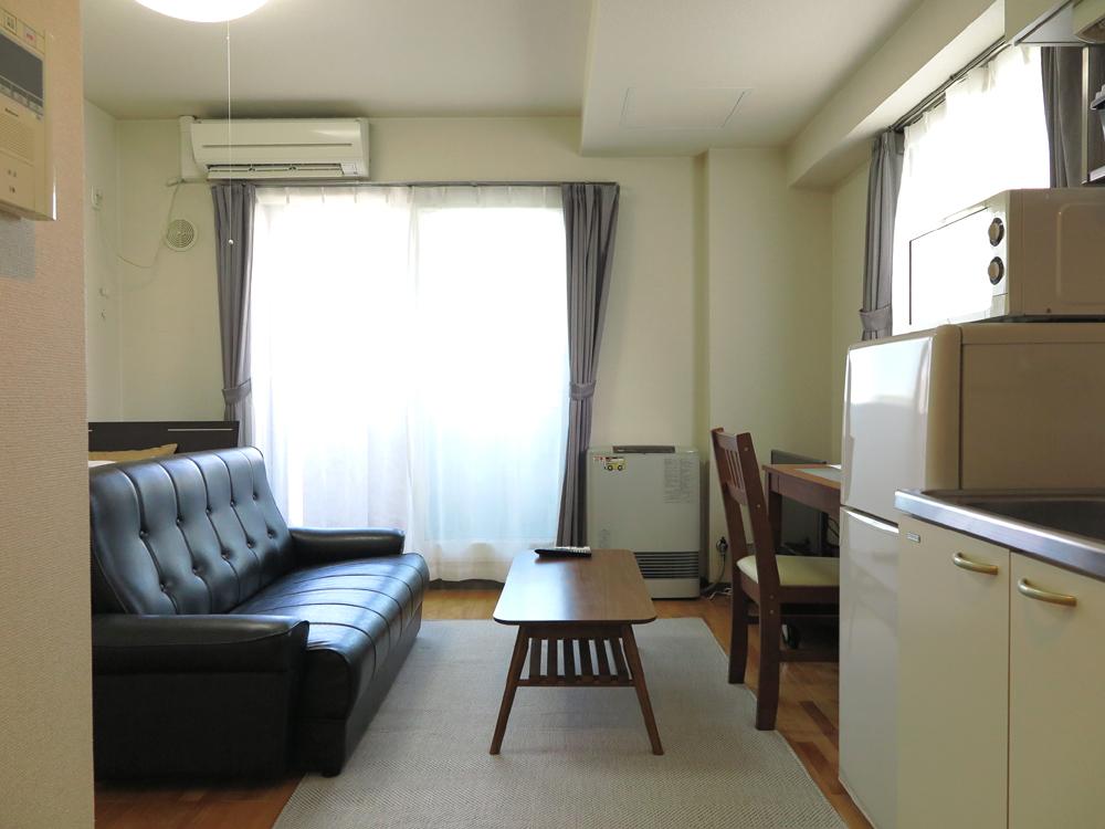 札幌の家具付きウィークリー・マンスリーマンション「エクスフラッツ大通EAST 1R」メイン画像