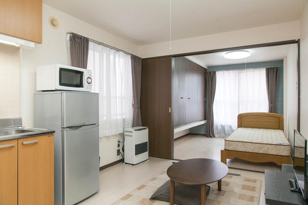 札幌市の家具付きウィークリー・マンスリーマンション「エクスフラッツさっぽろ」メイン画像