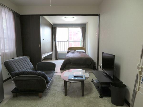 北海道の家具付きウィークリー・マンスリーマンション「エクスフラッツさっぽろ」メイン画像