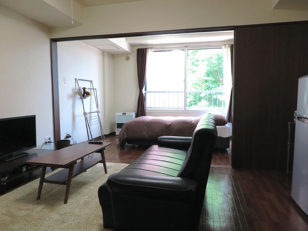 さっぽろ駅(札幌市南北線)の家具付き賃貸「北海道札幌市北区 1DK 」メイン画像