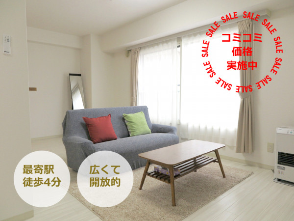 札幌の家具付きウィークリー・マンスリーマンション「エクスフラッツ大通セカンド」メイン画像