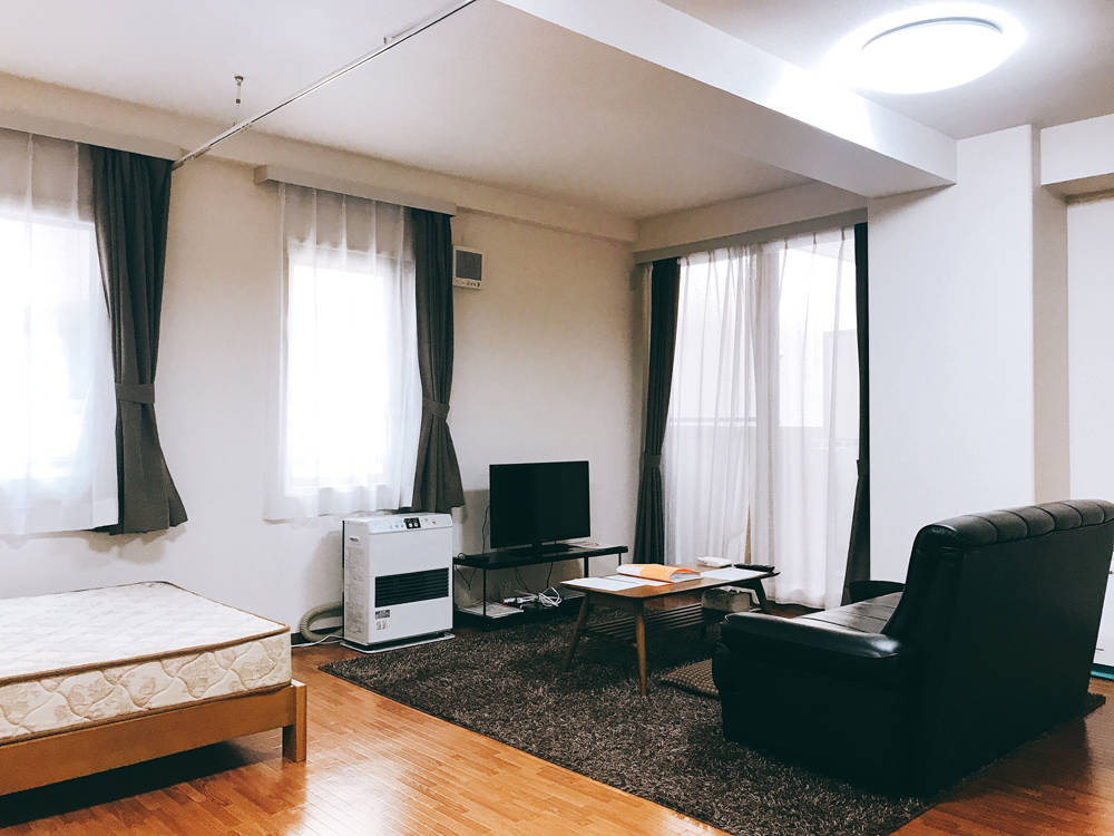 北海道札幌市中央区の家具付きウィークリー・マンスリーマンション「エクスフラッツ大通セカンド」メイン画像