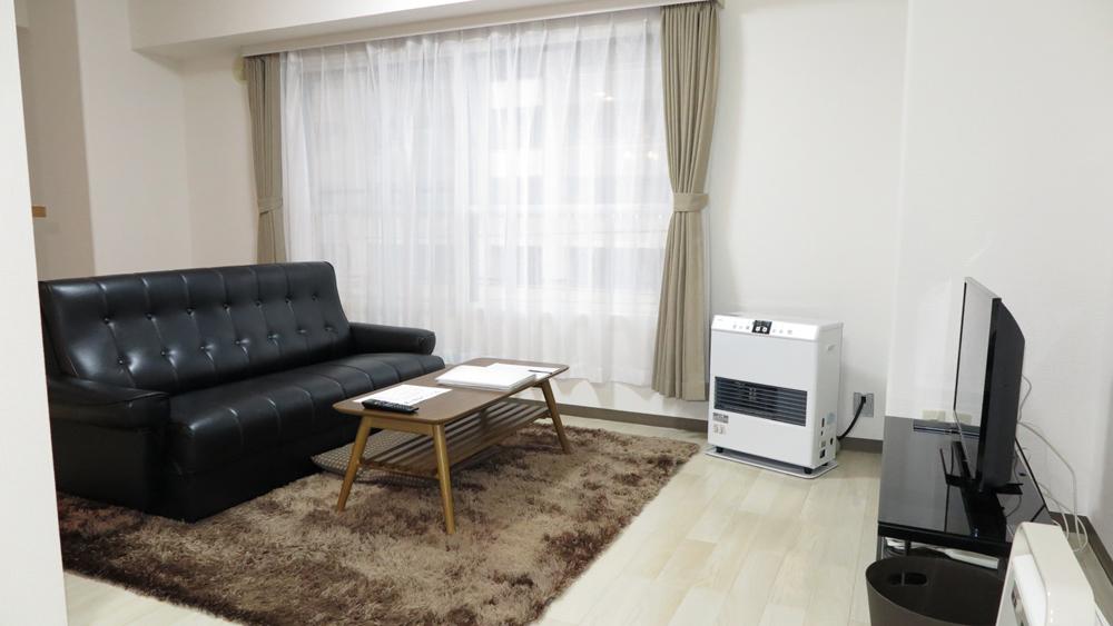 北海道の家具付きウィークリー・マンスリーマンション「エクスフラッツ大通セカンド」メイン画像