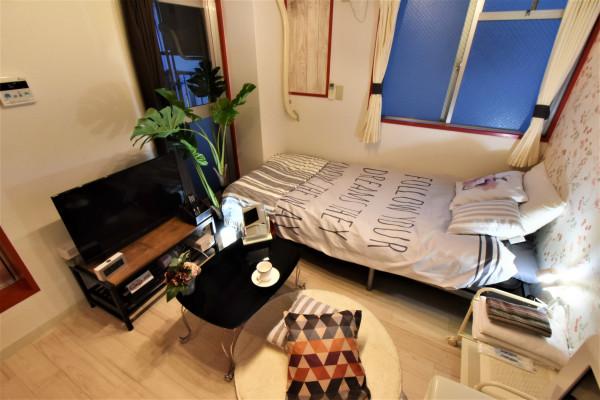 広島のウィークリーマンション・マンスリーマンション「Kマンスリー榎町 1R-204」メイン画像